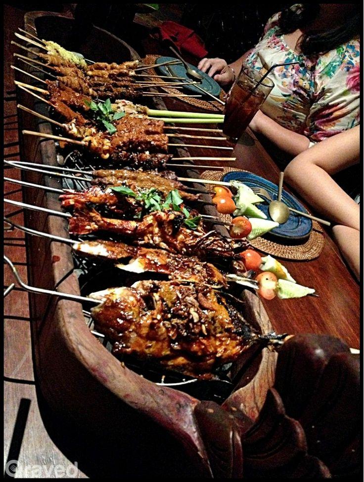 Sate Pasar Tugu at Samarra Restaurant