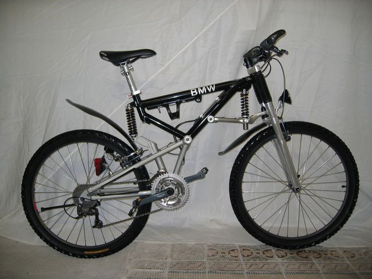 Bmw Super Tech Mtb Mountainbike Fahrrad Bike Klappbar Xt