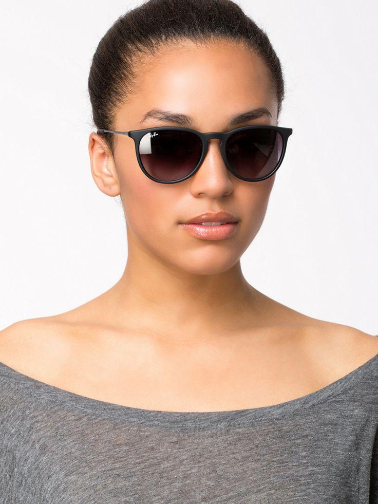 e79f9a1ca8 ... Classic Sunglasses RB4171 600068 Brown Violet 54mm Rb 4171 Erika - Ray  Ban - Rubber Black Gray Gradient - Solbriller - Tilbehør ...