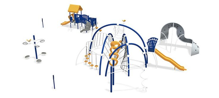 Civic Center Park - Skatepark and Playground