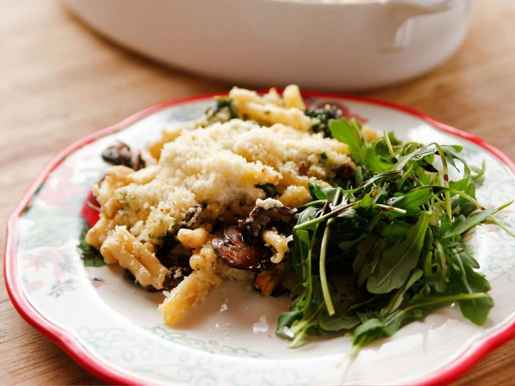 Spinach Alfredo Pasta Bake recipe from Ree Drummond via Food Network