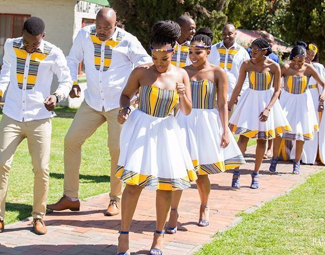 Step game on 1000%. Best bridal party ever.  Day 1 of 2!  #TshepoWedsRachel