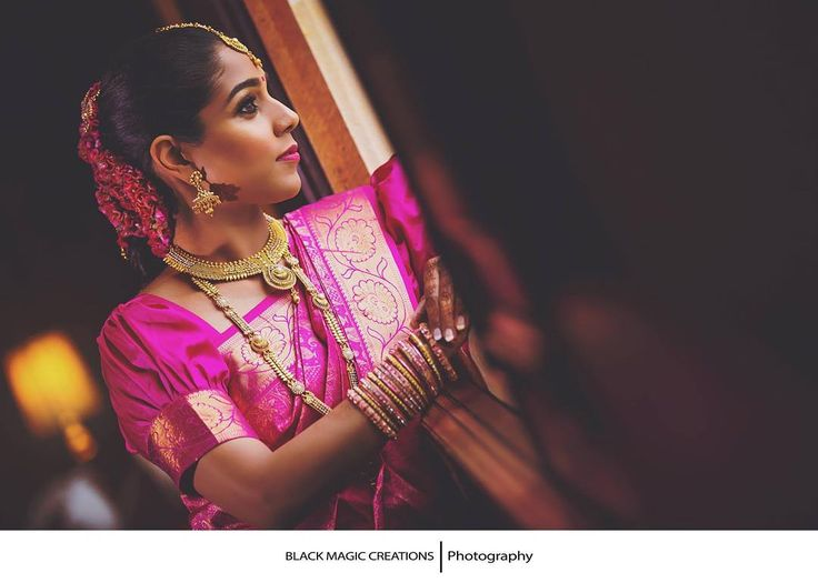 """Worth the wait""  MUA - @renuka_mua Photography - @black_magic_creations   Director - @shana_mahendran #TheBride #ourtradition #wedding #asianwedding #tamilhinduweddings #weddingfilm #blackmagiccreations #filmmaking #bmc #makeup  #makeupartist #MUA #hairstyle #bride #waiting4u"
