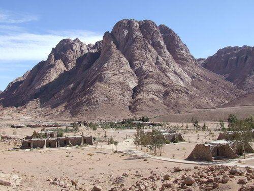 Traditional Mount Sinai, Egypt.