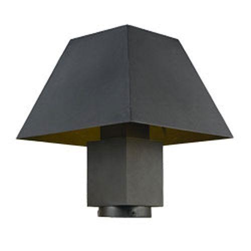 Maxim Lighting International 53510BK Pavilion Black LED One-Light Outdoor Post Mount