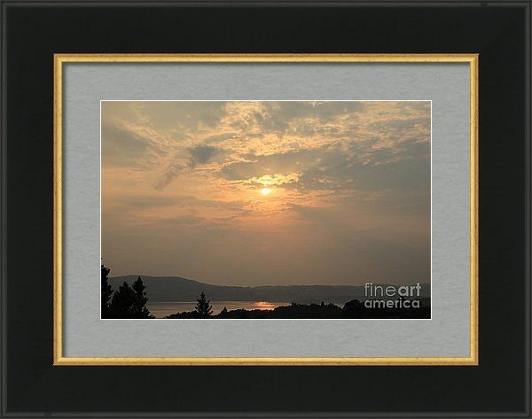 Sun Framed Print featuring the photograph Do Not Look At The Sun by Sverre Andreas Fekjan
