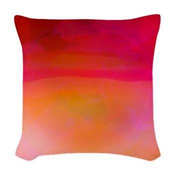 Heat Woven Throw Pillow