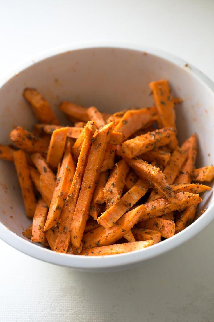 Batatas fritas al horno