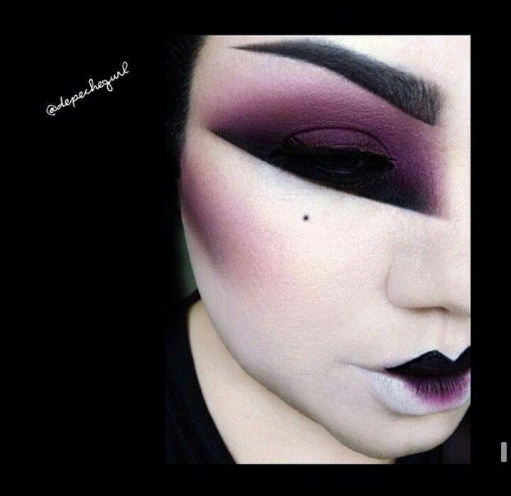 Geisha makeup                                                                                                                                                      More