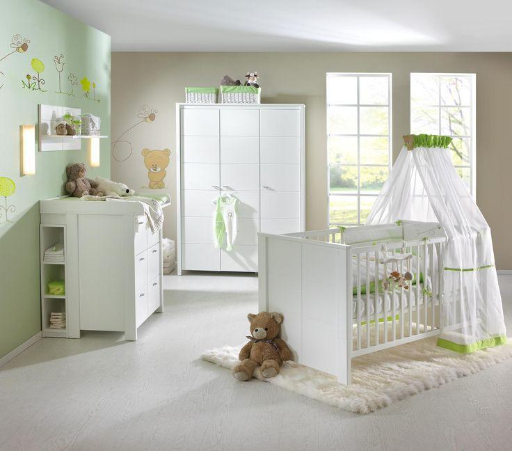 Perfect H henverstellbares Gitterbett von MY BABY LOU ein Traum in Wei Babyzimmer Pinterest Babies Ein and In