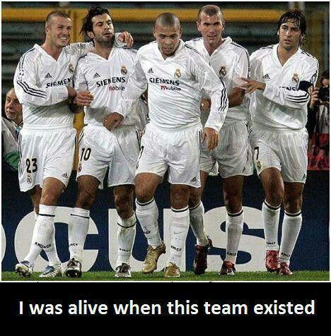 Real Madrid. Los galácticos :D