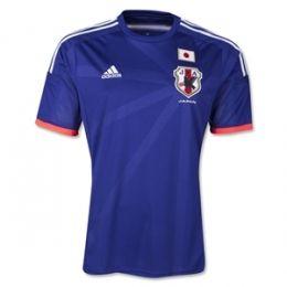 2014 Japan Home Blue Jersey Shirt