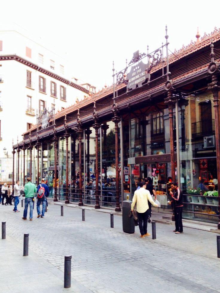 Mercado de São Miguel. Madrid