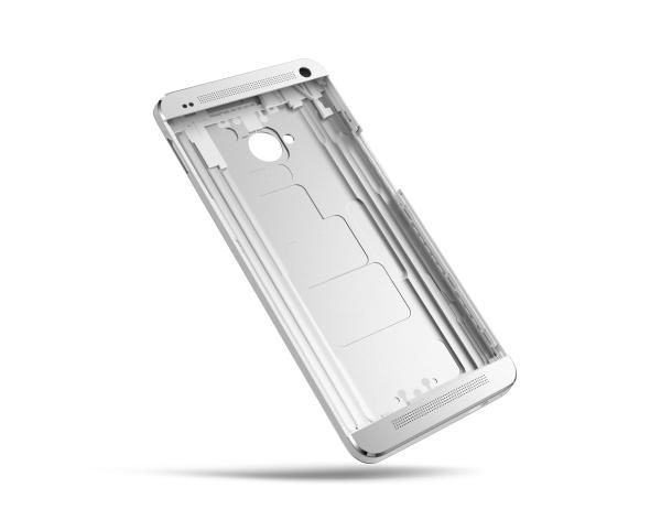 HTC One all-aluminum frame