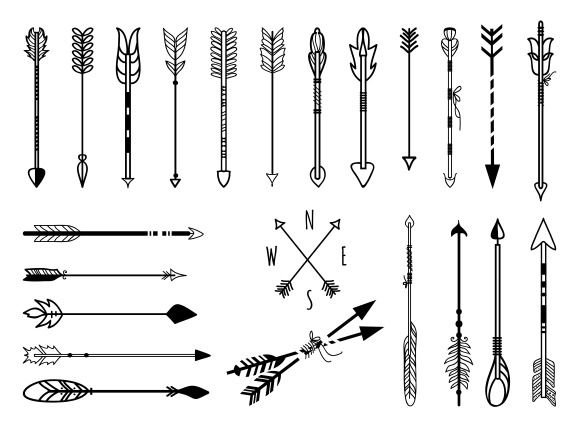 Check out Hand drawn arrows set by Microvector on Creative Market