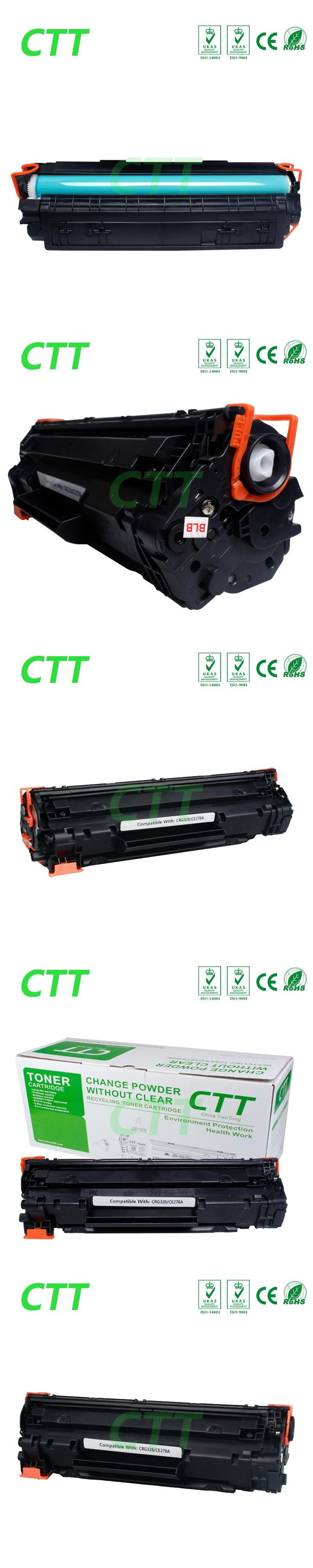 new product 78A 278a CRG328 for patible toner cartridge for HP CE278A use for HP Laserjet