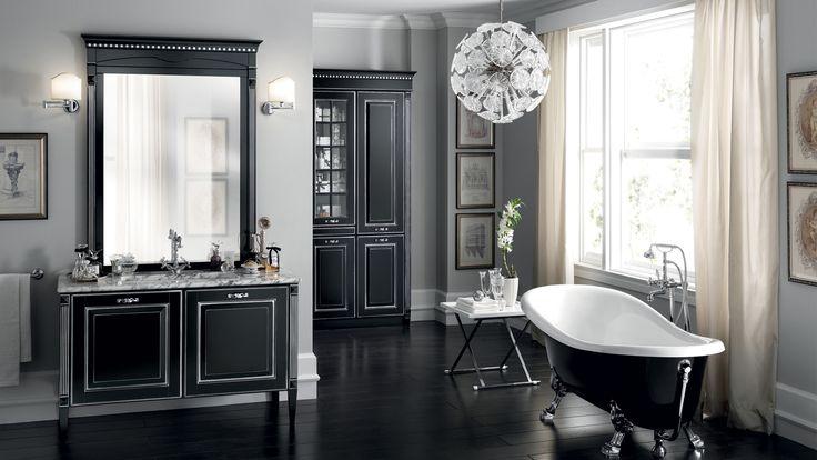 Итальянская компания Scavolini представляет: элегантная ванная комната Baltimora