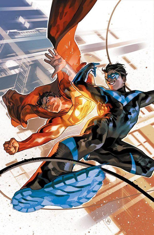 Nightwing 43 By Yasmine Putri Superman Superman Family