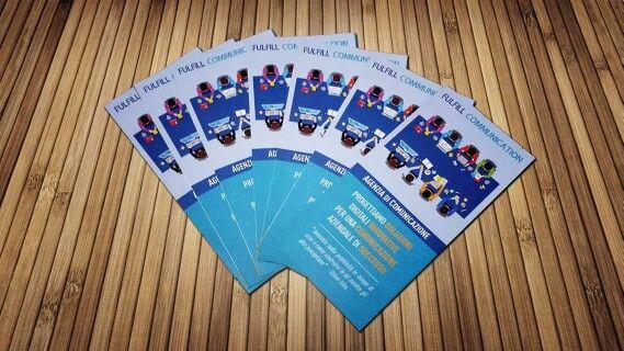 Nuove brochure per l'agenzia di comunicazione Fulfill Communication