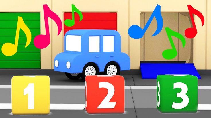 Cartoni animati per bambini: Macchinine colorate - Canzoni dei Colori e ...
