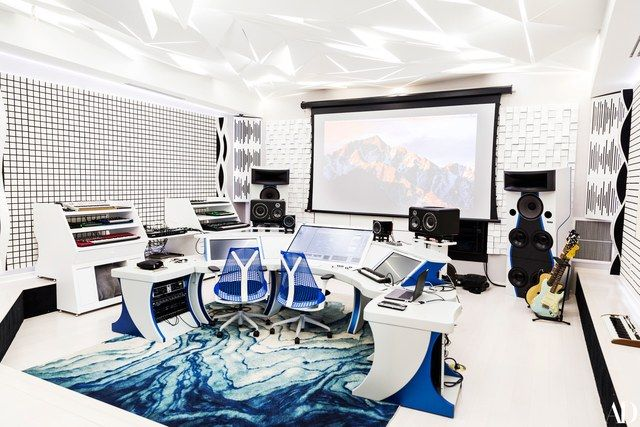 Steve Aoki Takes AD Inside His Modern Art–Filled Mansion