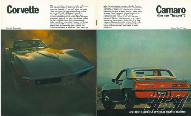 Chevrolet 1969 Model Lineup Brochure - Super Chevy Magazine