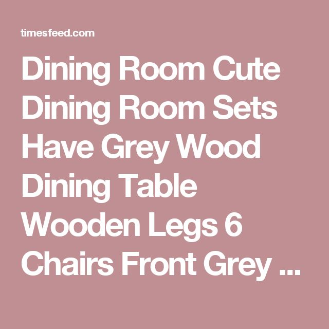25 best ideas about discount dining room sets on for Cute dining room sets
