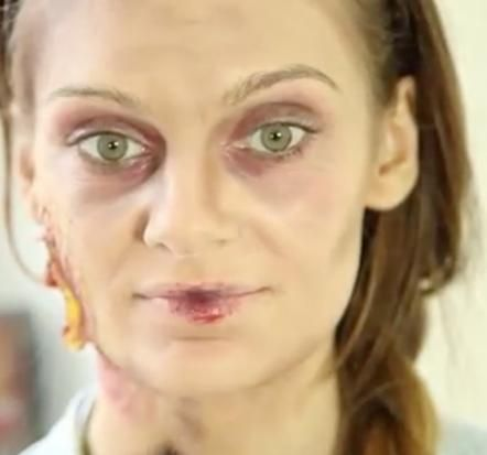 Zombie Make Up http://www.petra.de/lifestyle/kultur/galerie/zombie-halloween-make-up/page/7#content-top