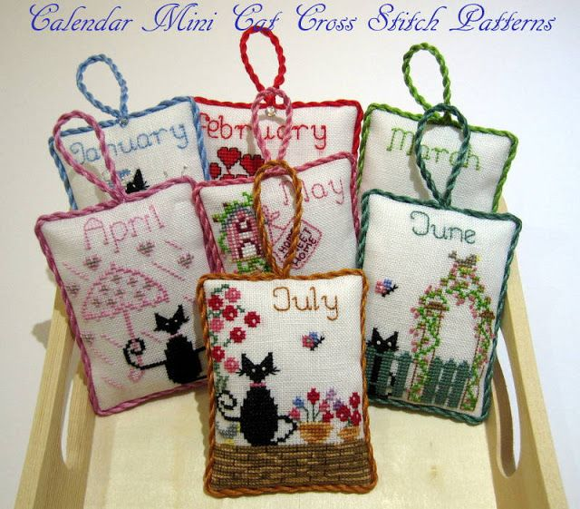 "Cross stitch pattern flower ""Asters"" Instant"