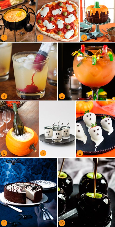 10 ideias para servir no Halloween - Constance Zahn