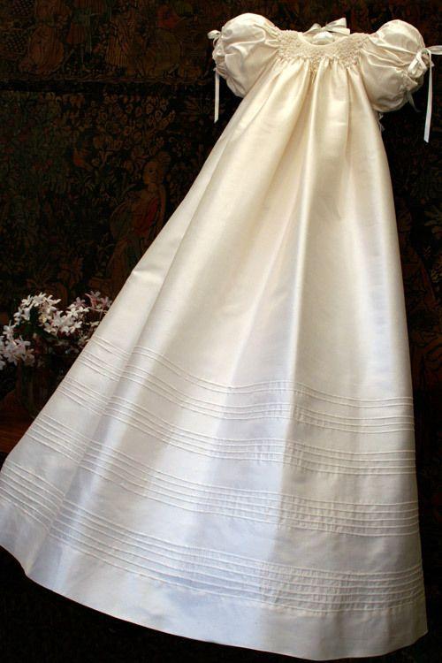Isabel Garreton - Garland Christening Gown, $307.00 (http://isabelgarreton.com/christening/garland-christening-gown/)