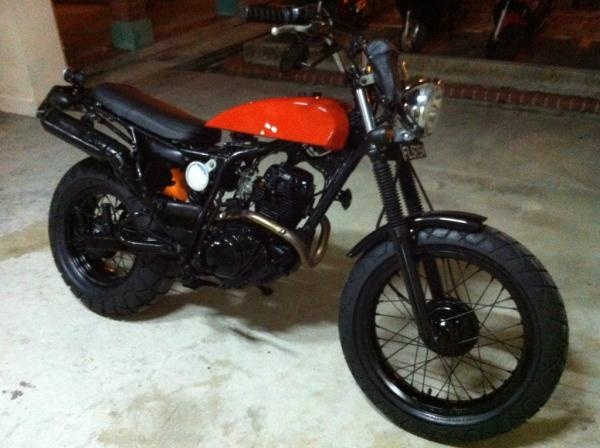 Yamaha Tw200 Modified Customised Yamaha Japa...