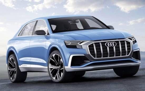 2019 Audi Q8 Concept Revealed