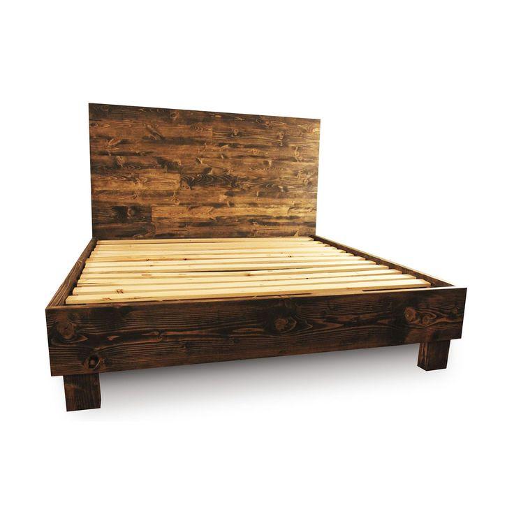 Best 25 Rustic Bed Frames Ideas On Pinterest Diy Bed
