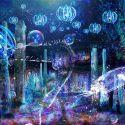 """世界初!3Dで体験する""""夜の水族館"""" 新江ノ島水族館で「ナイトアクアリウム」開催のギャラリー画像1"""