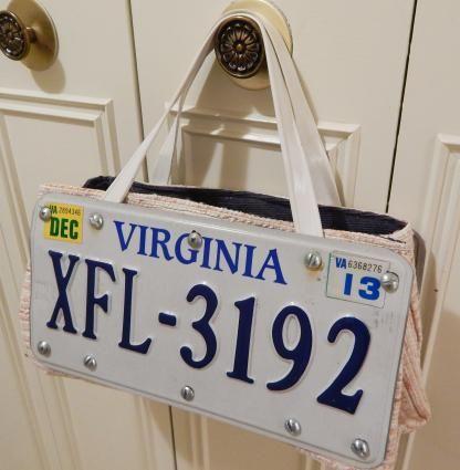 License Plate Ideas Decor