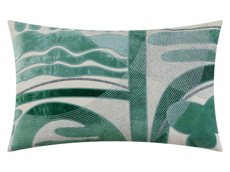 Naïve, jungle green, 65x40cm
