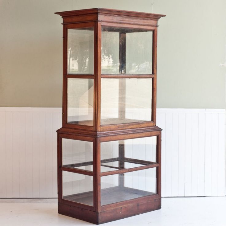 Solid wood curio cabinet woodworking projects plans