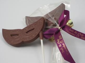 Chocolate Prom Favors -Masquerade Theme Prom $3.20