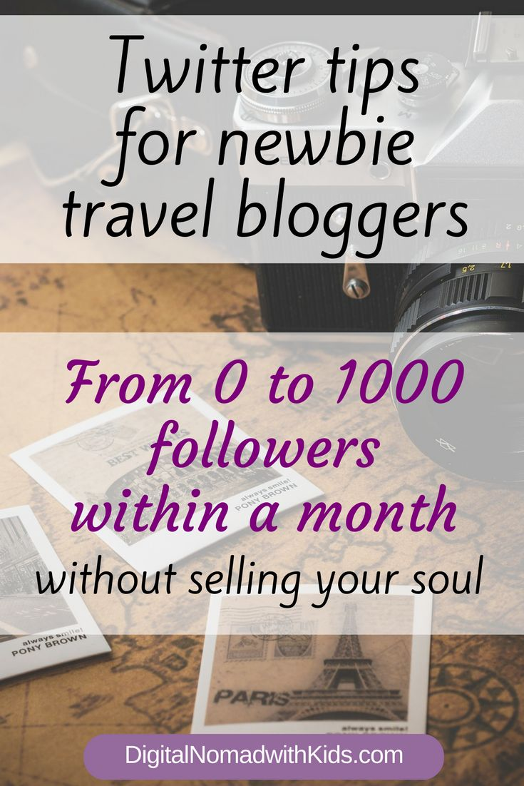 From 0 to 1000 Twitter followers in 4 weeks: my honest (!) Twitter strategy for newbie travel bloggers
