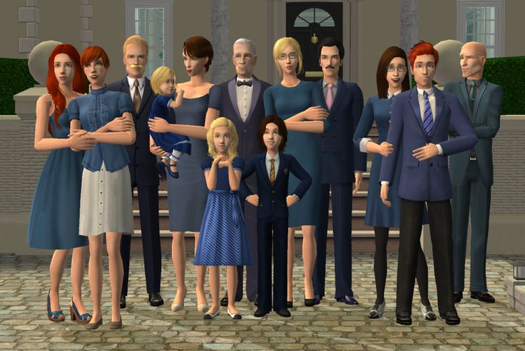 The Capp family of Veronaville  (picture inspired by Celekinesis)
