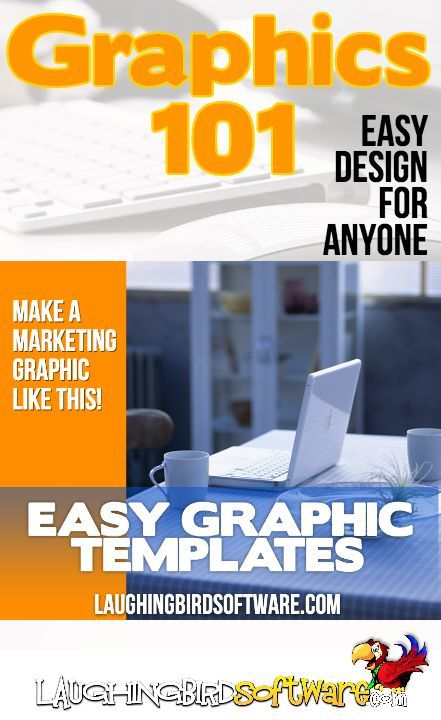 Amazing and easy graphic design... for everyone. Using graphic design templates makes social media graphics, marketing graphics, video thumbnails, book covers (and more) super easy. Get the graphic design templates that make every entrepreneur look professional.