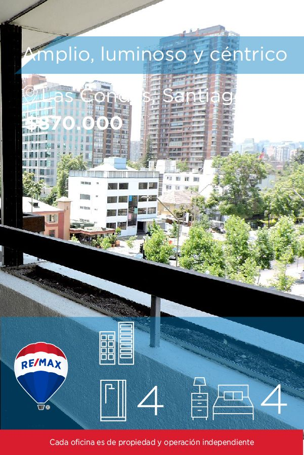 [#Departamento en #Arriendo] - Amplio, luminoso y céntrico departamento (Metro Alcántara) 🛏: 4 🚿: 4 👉🏼 http://www.remax.cl/1028018053-19   #propiedades #inmuebles #bienesraices #inmobiliaria #agenteinmobiliario #exclusividad #asesores #construcción #vivienda #realestate #invertir #REMAX #Broker #inversionistas #arquitectos #venta #arriendo #casa #departamento #oficina #chile