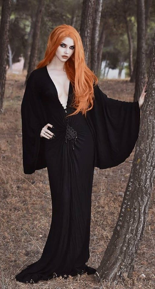 Dayana Crunk cabello naranja