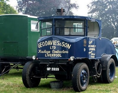 Steam Car Lorry.