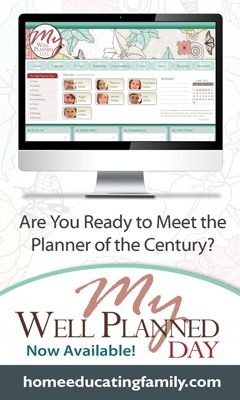 Click here and enter to win the My Well Planned Day digital planner! #homeschool #organizationHomeschool Organic, Day Planners, Software Giveaways, Homeschool Helpful, Homeschool Ideas, Well Plans, Plans Software, Homeschool Plans, Planners Giveaways