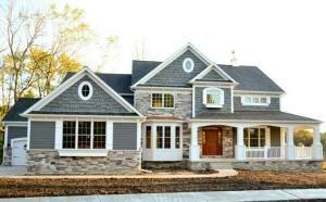 House exterior by karenleigh