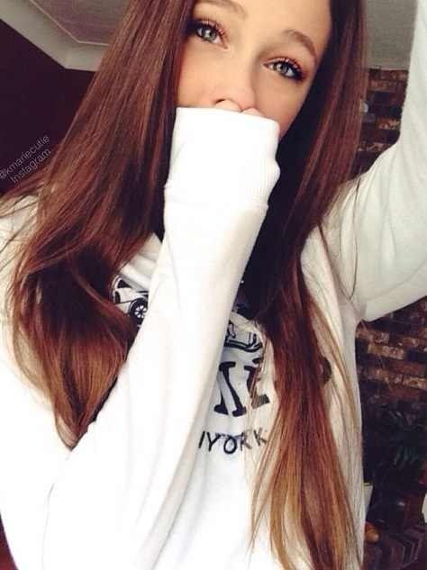 Wow Love Her Hair Color Brunette Pinterest