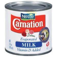 Evaporated milk recipe