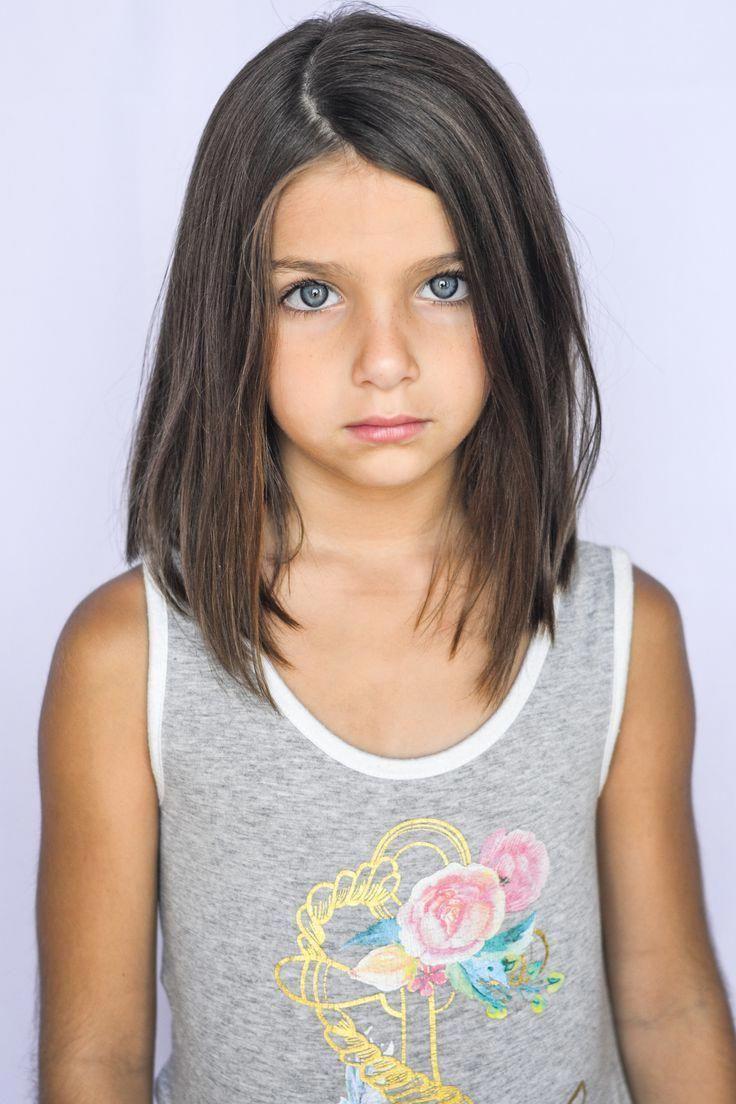image result for little girls shoulder-length haircuts